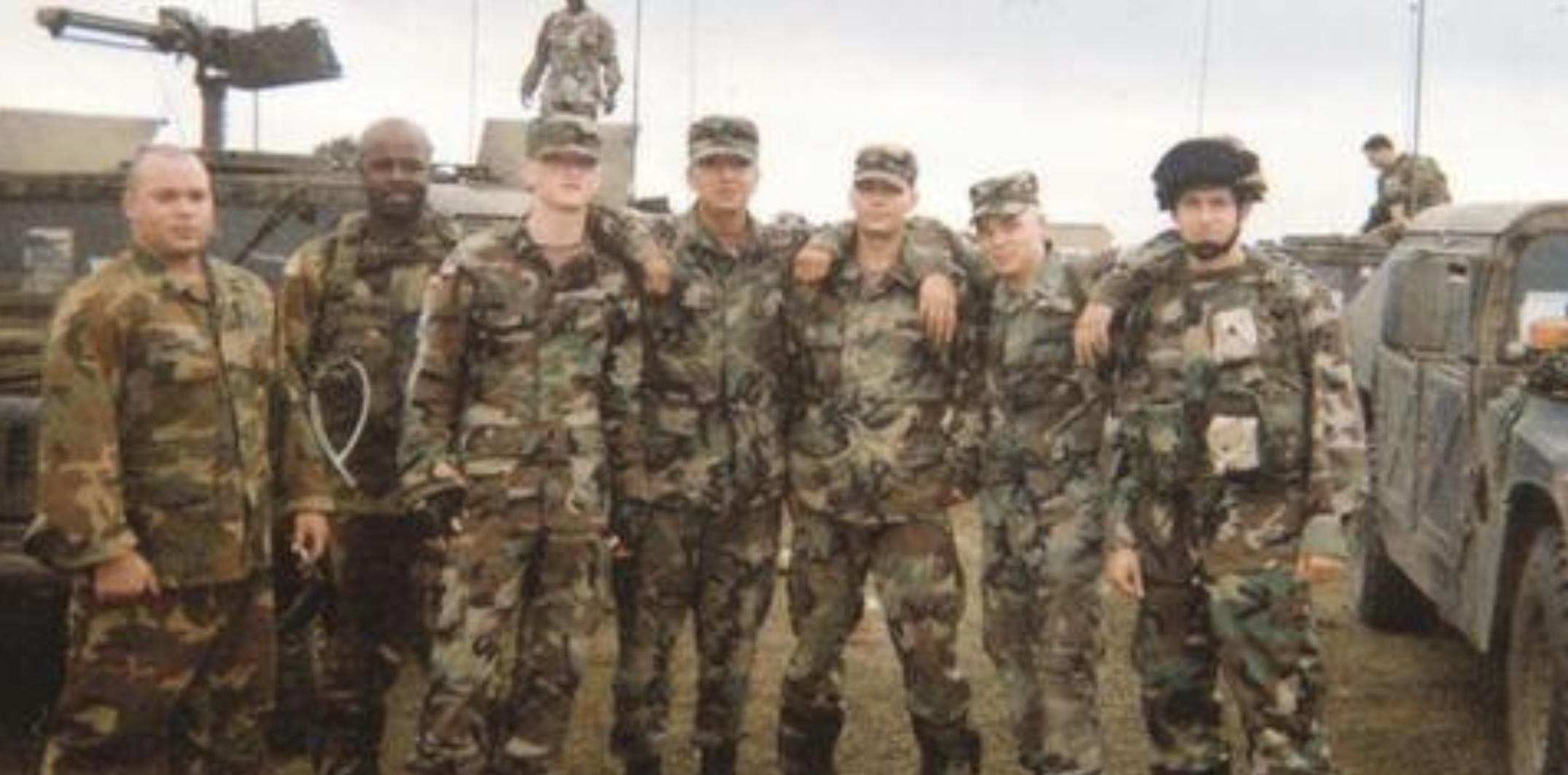 Adam Mattis in the US Army