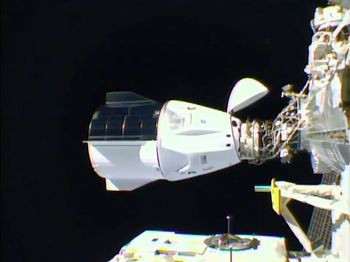 SpaceX Docking