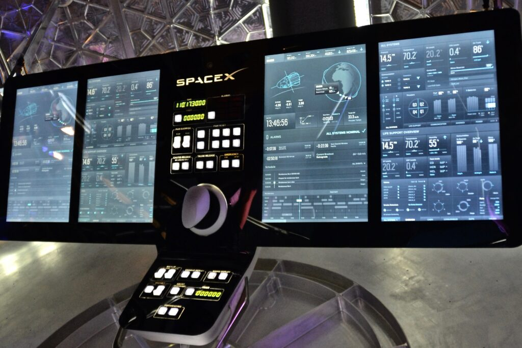SpaceX Dragon Panel